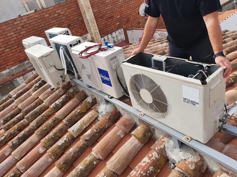 AC - Reparación aire acondicionado