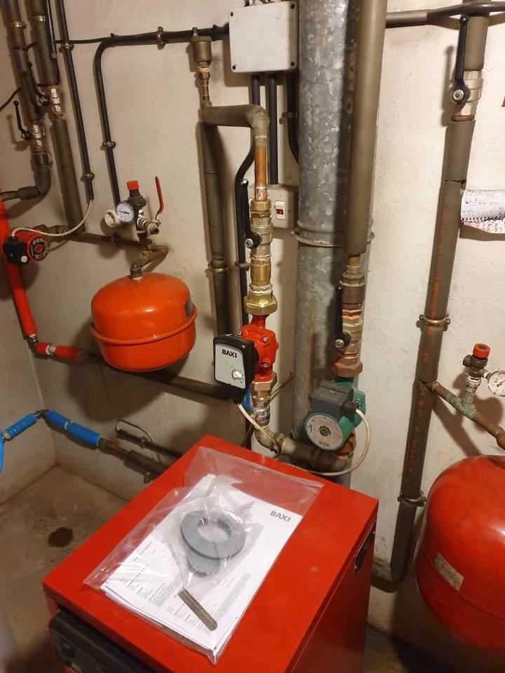 INSTALL - Instalación Caldera gasoil
