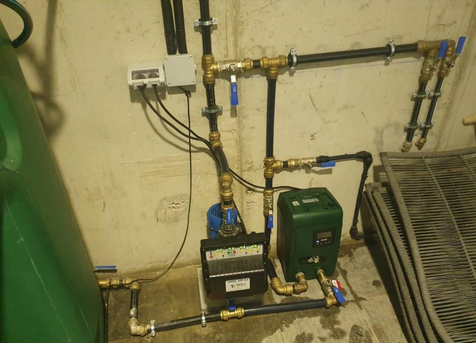 INSTALL - Instalación motor presión modulante
